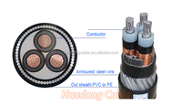corrugated copper conductor foam polyethylene insulation corrugated copper outer conductor polyethylene sheath Coaxial cable