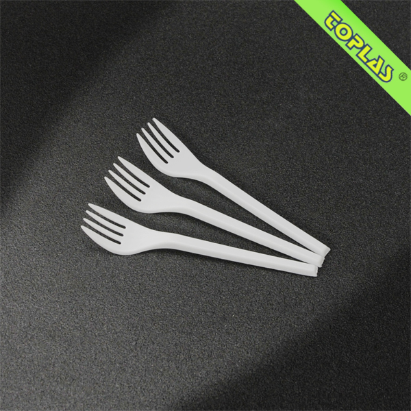 130mm Disposable Plastic Spoon Fork Knife