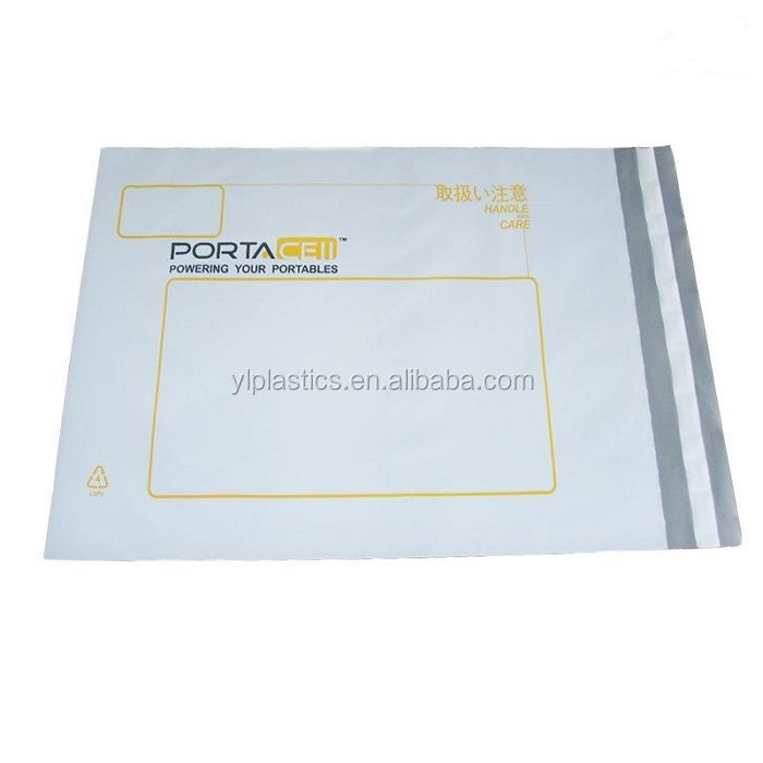 custom logo poly mailer printed plastic courier bags/mailing bags/postage bags