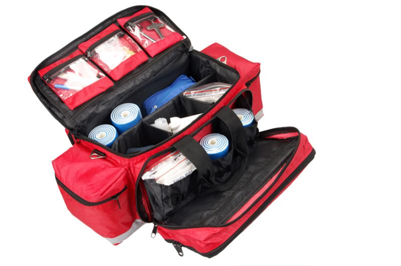 factory free survival emergency first aid kit with led flashlight