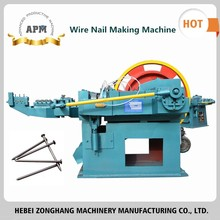 APM Factory steel nail making machine for wholesales