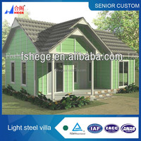 Portable camping house,new design cheap villa, high quality movable log cabin and bungalow