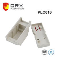 Plastic outdoor din rail enclosures for electronics
