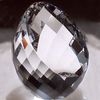 stunning faceted crystal egg for custom engraving gifts