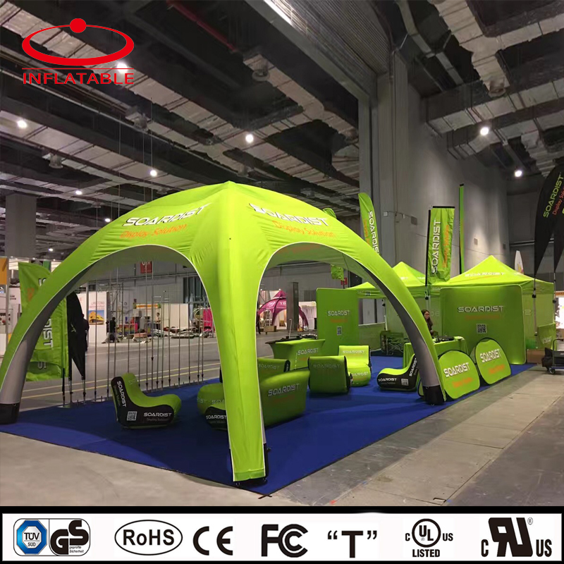 custom inflatable air sealed event promotion tent