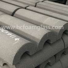 oil gas pipe insulation material foam glass