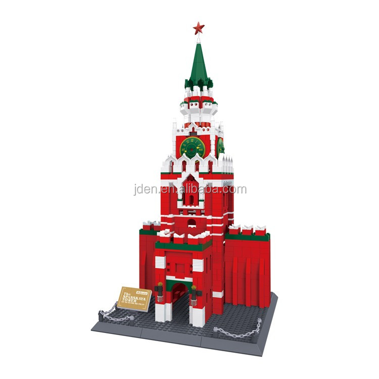 WANGE Famous Building Miniature Toy Of Kremlin block toy