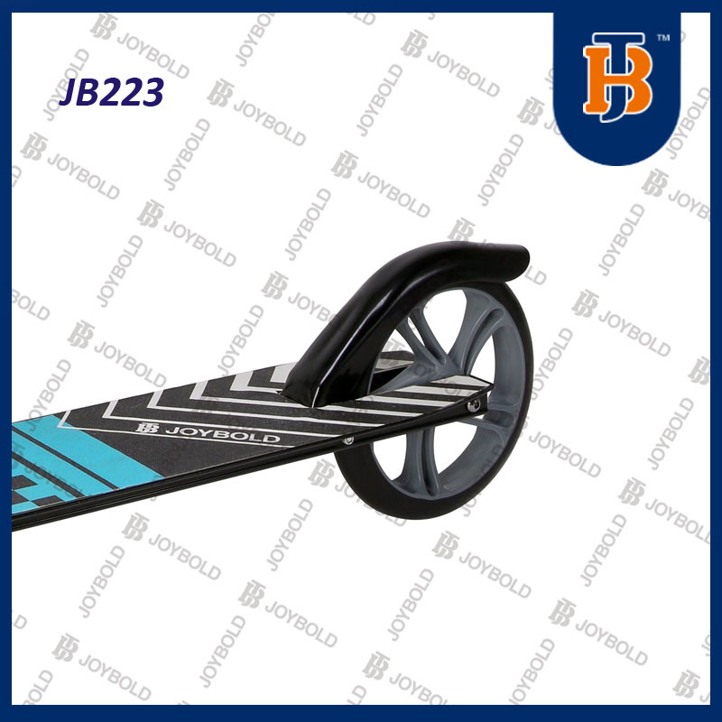 Factory Wholesale Balck Flywheel Scooter For Teenagers Big Wheel JB223 CE Approved