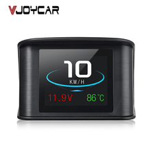 2018 New arriving car electronics products P10 Muilt functional rich display content OBD2 Car hud speed limiter