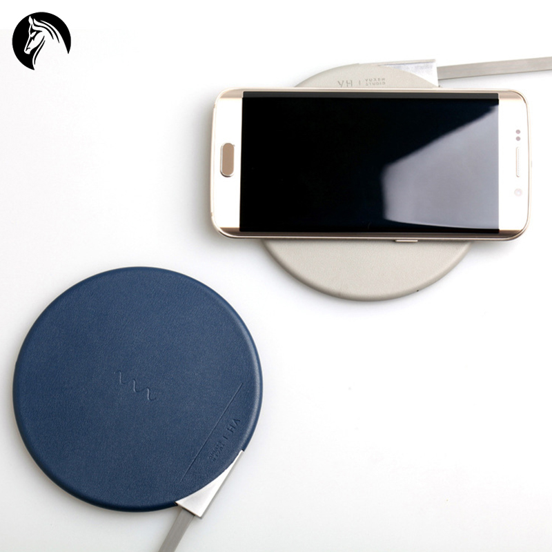 Single Coil Qi Wireless Charger Universal Wireless Charger for for iPhone 8 for Samsung