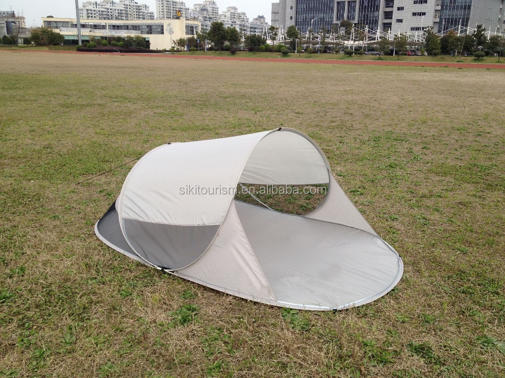 solar beach sun shade tent heating
