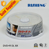 RISHENG blank 8.5gb dvd double layer/blank 8.5gb dvd-r dl/blank 8.5gb double layer dvd