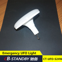 24W usb charger portable led lamp Emergency UFO Light