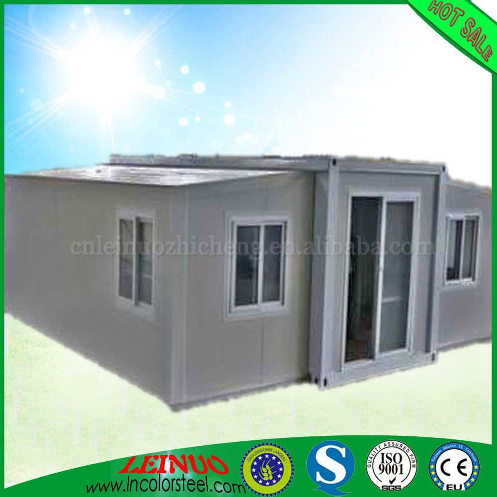 CE Approved Flexible Light Gauge Steel Strong Structure 20ft modified expandable container house China house used for Kiosk