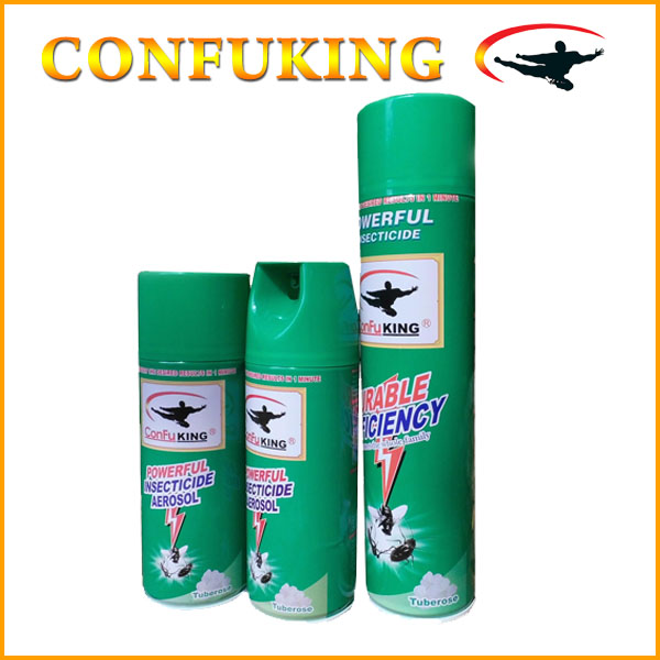 400ml oil base aerosol household insect killer spray