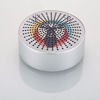 Sell well new type portable round blue tooth music usb mini speaker