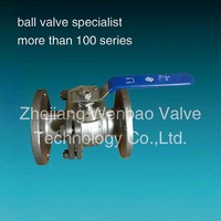 2PC Flange 3 Inch Stainless Steel Ball Valve ANSI B16.10 SABS1123 T1000