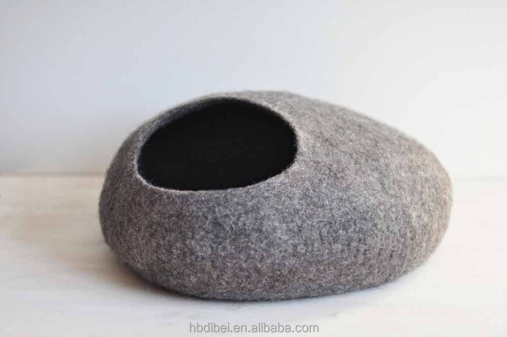 cat bed the best home for pets chemical wool felt free cat cave retail