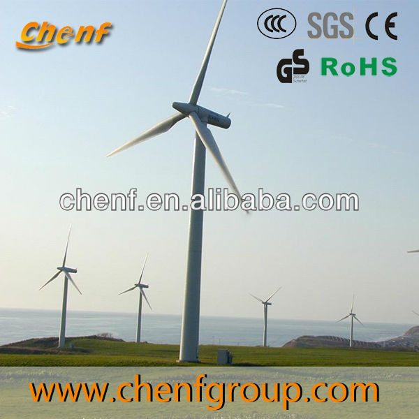 MW wind power plant by horizontal wind turbine generator 100kW