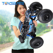 2018 RC Toys & Hobbies Mini 2.4g 1/10 High Speed RC Rock Crawler Electric Drift Racing Big Wheel Radio Control Car
