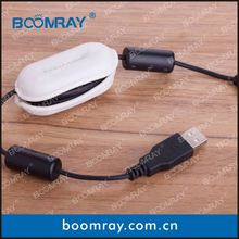 Boomray smart and convenience cable clip earth clamp for solar system screw riveting