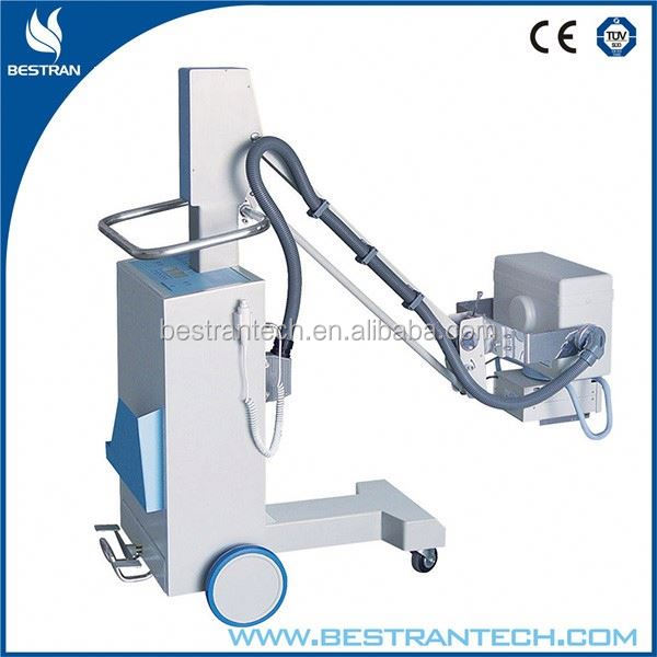 CE ISO Hospital 50-100MA patient room mobile cr x-ray machine
