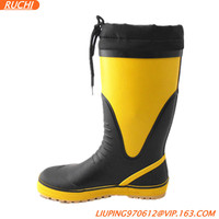 rubber rain boots with all kinds of colours RKR002