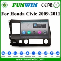 Funwin Android Car Gps Navigation For Honda Civic 2009 2010 2011 Support 3g Wifi Mirror Link