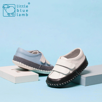 2016 littlebluelamb infant soft leather baby shoes toddler shoe