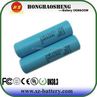 Sam-sung-25R INR18650-25R 18650 2500mAH 25Amps Discharging rate battery, NCR 18650B. he2/He4 35A battery all in stock