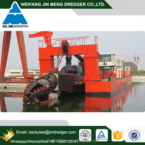 1,500cbm/h 24inch Hydraulic mini cutter suction sand dredger with double dredging pump for sale