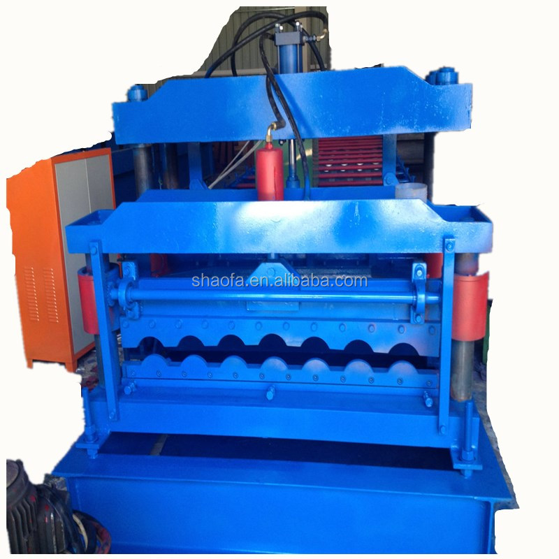 Stone Coated Metal Roof Tile Roll Forming Making Machine Popular in Africa