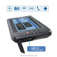 rugged industrial android tablet pc UHF RFID reader integrated GPRS/GSM,3G,WiFi,bluetooth,GPS for severe environment
