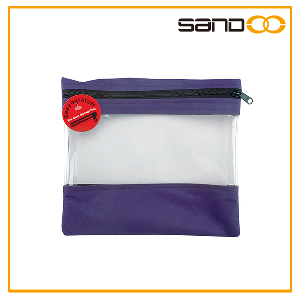 New design Clear Storage Bags, clear vinyl pvc zipper bags