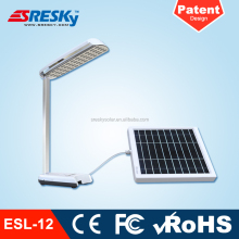Foldable Desk Led Solar Study Lamp With Usb Port