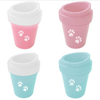 Portable Silicone Dog Foot Cleaner Wash Cup,Paw Washer For Dogs