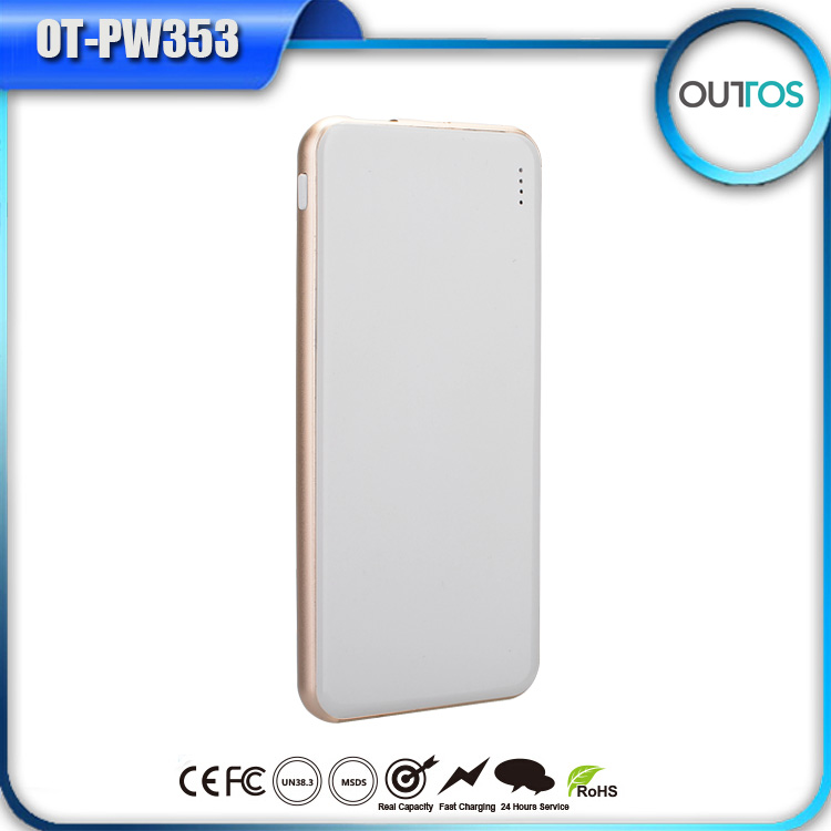 Christmas Gift 1 android+1 lighting inputs dual usb external universal battery charger power bank for cellphone