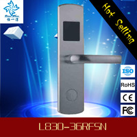 British standard rfid hotel door lock system for hotel water resistant