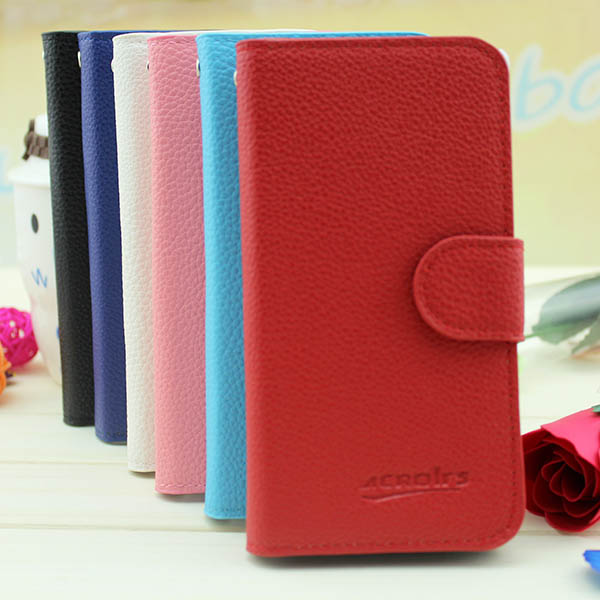Wholesale Leather Flip Case for Samsung Galaxy S3 mini I8190