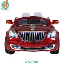 Luxury mall car for kids, with light and music, big baby car, strong toy car with remote control WDA198