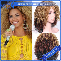 New arrive nature looking Synthetic spring curl braided wigs for black women/stores sell african braided wig