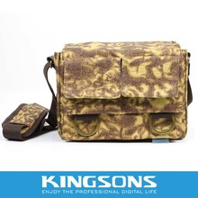 Kingsons durable canvas camera bag,camera sling bag canvas