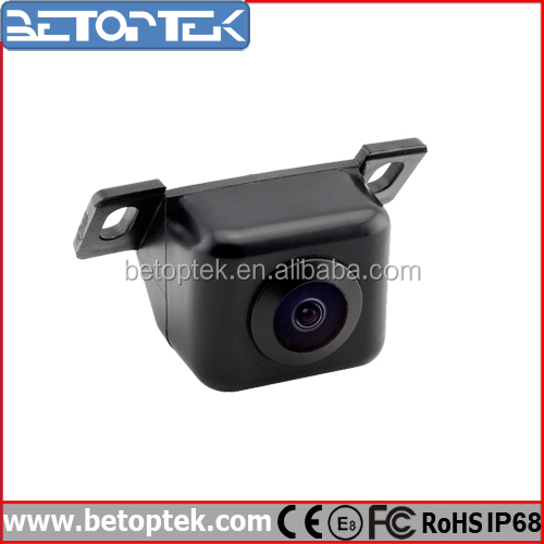 Waterproof IP68 car front view camera, surveillance parking system