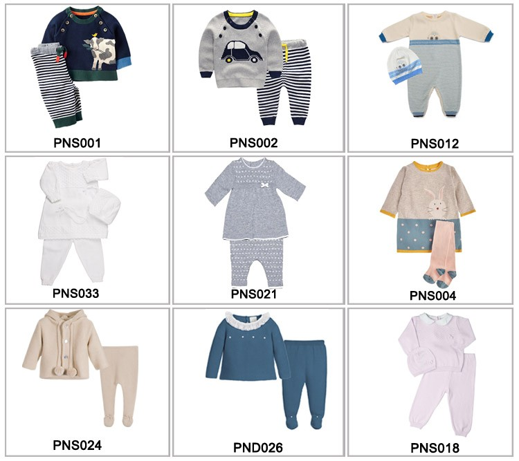 China Manufacturer Wholesale frill collar knitted design romper baby funny clothes 0-24M