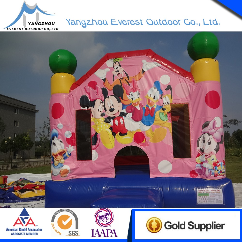 High quality commercial inflatable model castles