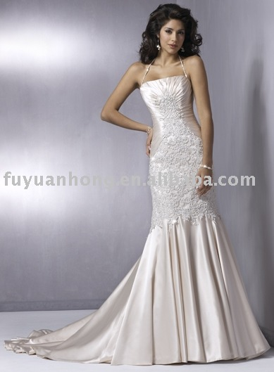 wedding gown/bridal wedding dress/ FYH-WD1210