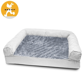 Orthopedic Pet Sofa Bed Comfortable Couch For Pets With Removable Washable Cover