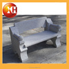 Outdoor stone garden piano bench with back for garden furniture
