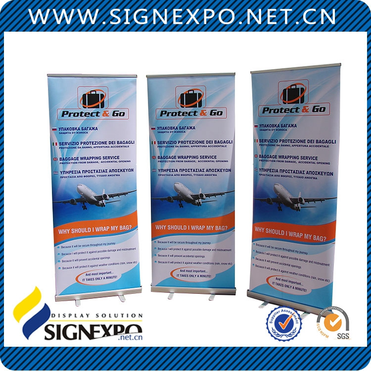 Wholesale Cheap Custom Hand Held Roll Up Banners