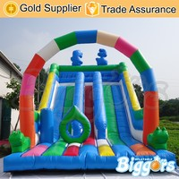 Free Shipping By Sea Purchase Festival Commercial Giant Inflatable Slide 2016 for Sale